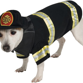 pet costume: firefighter | small
