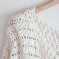 Sweater crochet pattern - easy