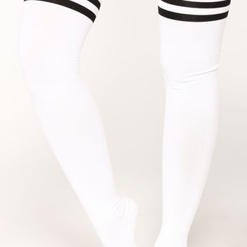 My Bae Over The Knee Socks - Ivory