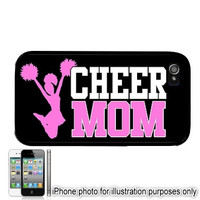 cheerleading Iphone 6 Case iPhone 5C 6 Plus 4 5 Case Cheer Mom 2  Cover Skin Hard Shell Back Rubber Silicone or Plastic Cheerleading