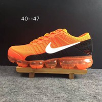 2018 Nike Air VaporMax cdg Airmax Orange Sport Shoe US8-13