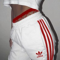 """Adidas"" Fashion Women MenLoose Exercise Sport Pants Trousers Boy Girl Sweatpants"