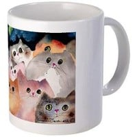 Moon Viewing Cats Mug - CafePress Australia