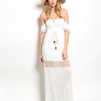 Neylan Boho Off The Shoulder Dress
