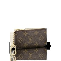 LOUISVUITTON.COM - Louis Vuitton Key Pouch Monogram Canvas Card and Key Holders