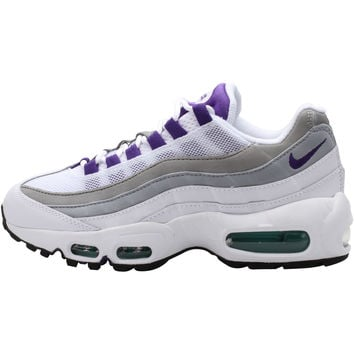 Nike WMNS Air Max 95 Premium OG - White/Court Purple-Emerald Green-Wolf