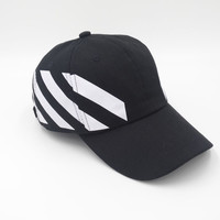 Perfect OFF-White Women Men Embroidery Sports Sun Hat Hip Hop Baseball Cap Hat