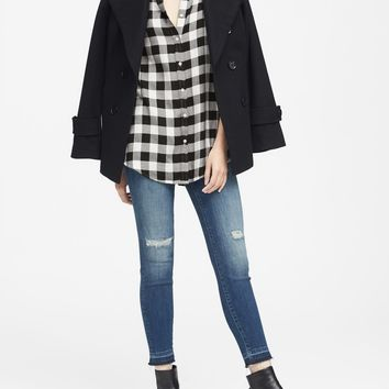 Dillon Classic-Fit Plaid Flannel Shirt | Banana Republic