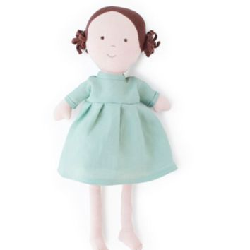 Louise Organic Girl Doll by Hazel Village