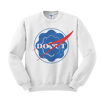 NASA Donut Sweatshirt
