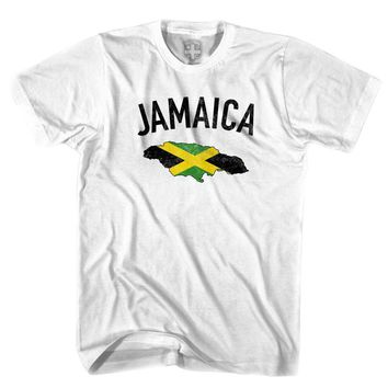 Jamaica Flag & Country T-shirt