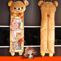 Rilakkuma San-X Wall Hanging Storage Bag  3 Pockets Free shipping