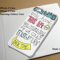 One Direction Moments Lyric Best Seller Phone Case on Etsy for iPhone 4, iPhone 4s, iPhone 5 , Samsung Galaxy s3 and Samsung Galaxy s4
