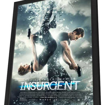 Insurgent 11x17 Framed Movie Poster (2015)