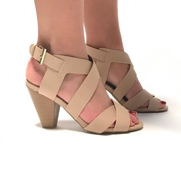In Motion Nude Heels