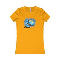 Sup Paddle Board Maui Vintage Surf Tee Womens