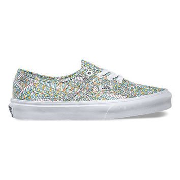 Vans Authentic(Abstract)Black/Wht
