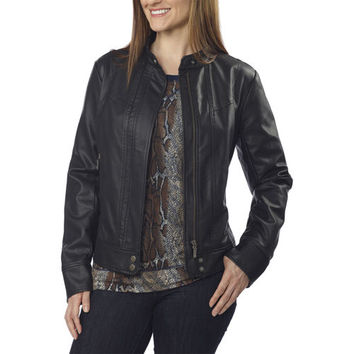 Bernardo Ladies' Fashion Jacket-Black