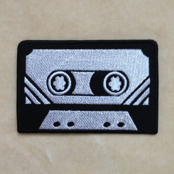 Cassette Tape Iron On Patch