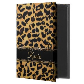 Personalized Leopard Animal Print iPad Air 2 Case