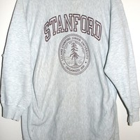 BeWorn — Vintage Grey University of Stanford College Jumper