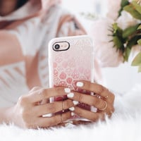 Beautiful iPhone 7 & 7 Plus Case (Pink Diamonds Pattern) by Casetify