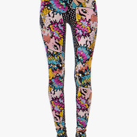 A'GACI MANGA COMIC LEGGINGS - New Arrivals