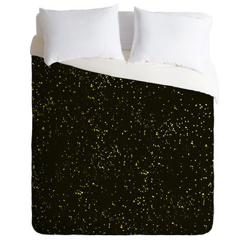Triangle Footprint Cosmos1 Duvet Cover