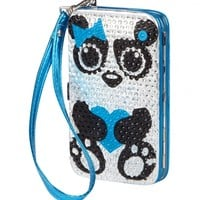 Panda Rhinestone Hard Tech Wallet | Girls Tech Accessories Beauty, Room & Tech | Shop Justice