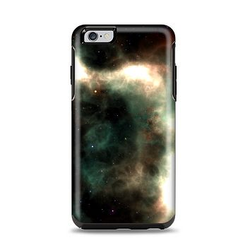 The Dark Green Glowing Universe Apple iPhone 6 Plus Otterbox Symmetry Case Skin Set