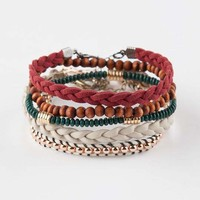 FULL TILT 5 Piece Boho Friendship Bracelets