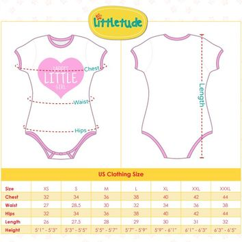 Adult Baby & Diaper Lover (ABDL) Snap Crotch Romper Onesuit Pajamas - Unicorns and Princesses
