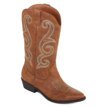 Arizona Millie Womens Cowboy Boots - JCPenney