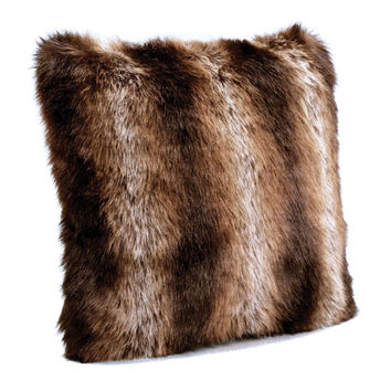 Tanuki Faux Fur Pillows by Fabulous Furs