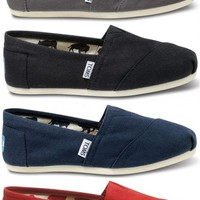 TOMS - Authentic Womens Canvas Classics