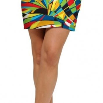 Loudmouth Ladies Toucan Stretch Tech Golf Skorts