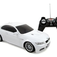 BMW M3 Series Remote Control RC Sports Car 1:18 Scale Model with Headlights & Tail Lights