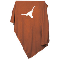 Texas Longhorns NCAA Sweatshirt Blanket Throw