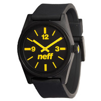 Neff - daily watch - Black/Yellow