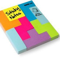 Retro To Go: Block notes from Suck UK - Tetris style post-its