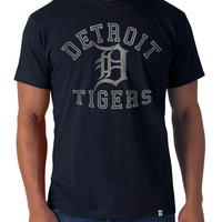 '47 Brand Detroit Tigers Navy Blue Mens Flanker Tee