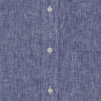 Japanese Natural Linen Navy
