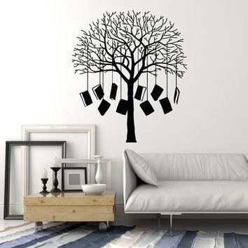 Vinyl Wall Decal Books Tree Home Library Reading Corner School Stickers Mural Unique Gift (ig5139)