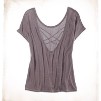 Aerie Braid Back T | Aerie for American Eagle