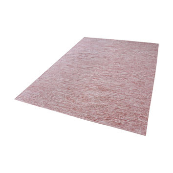 8905-011 Alena Handmade Cotton Rug In Marsala And White - 5ft x 8ft