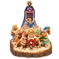 Disney Snow White and the Seven Dwarfs ''The One That Started Them All'' Figurine by Jim Shore | Disney Store