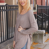 Beat the Chill Top - Taupe