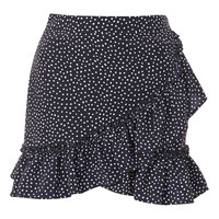 Polka Dot Frill Mini Skirt | Topshop