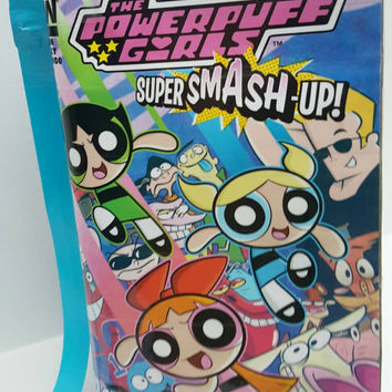 The Powerpuff Girls Comic Book Purse - Handbag - Shoulder Bag -Duct Tape Purse
