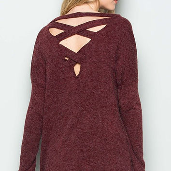 Back CrissCross Sweater